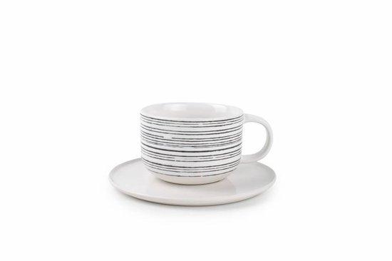 S&P RAWW servies 20-delig - Porselein - Zwart/wit - Salt&pepper