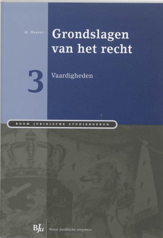 Cover van het boek 'Grondslagen van het recht 3: Vaardigheden'