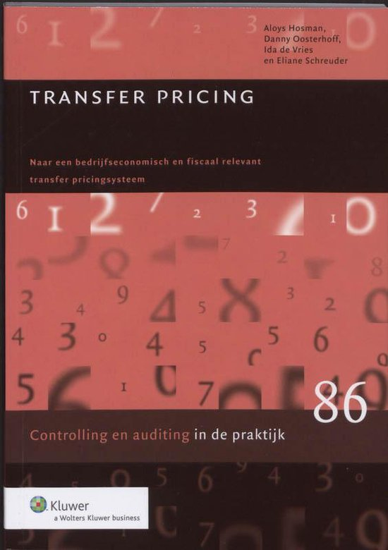 Transfer pricing - A. Hosman |