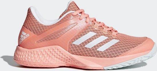 bol.com | adidas Adizero Club W Tennisschoenen Dames - Coral