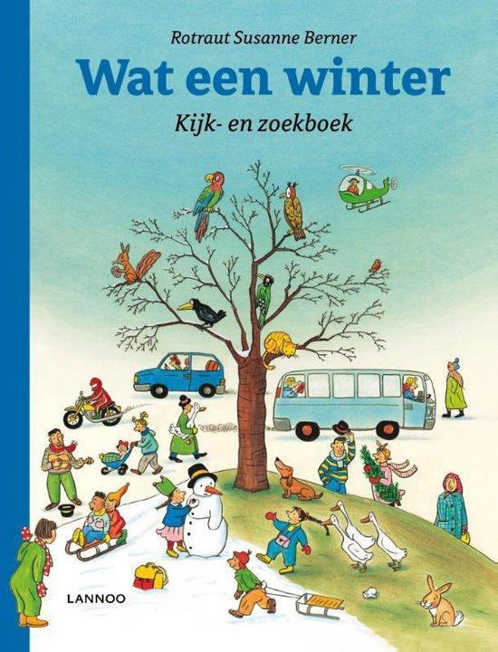 Boek cover Kijk- en zoekboek - Wat een winter! van Rotraut Susanne Berner (Hardcover)
