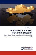 The Role of Culture in Personnel Selection