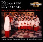 Vaughan Williams : Mass In G Minor & Others Pieces