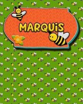 Handwriting Practice 120 Page Honey Bee Book Marquis