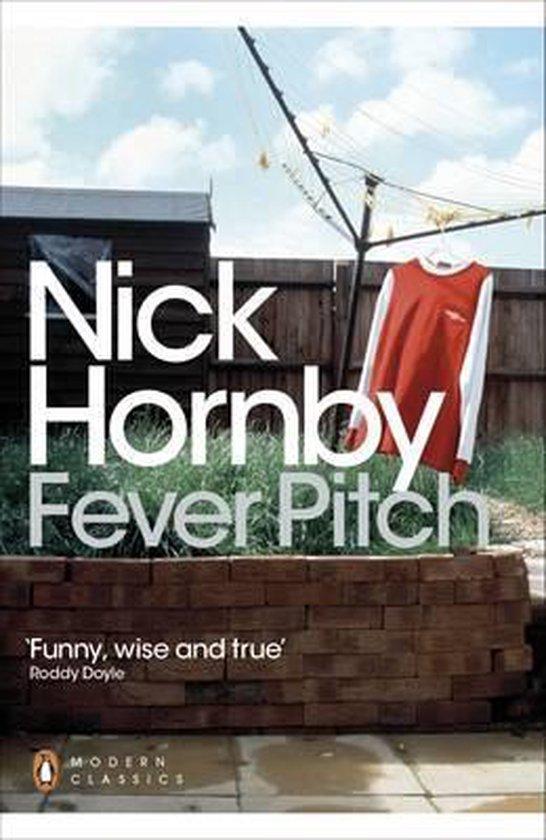 Boek cover Fever Pitch van Nick Hornby