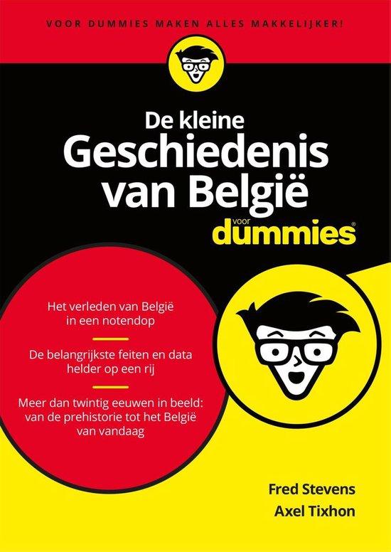 Voor Dummies - De kleine geschiedenis van België - Axel Tixhon |