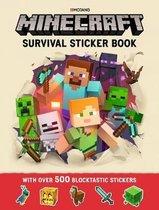 Minecraft Survival Sticker Book
