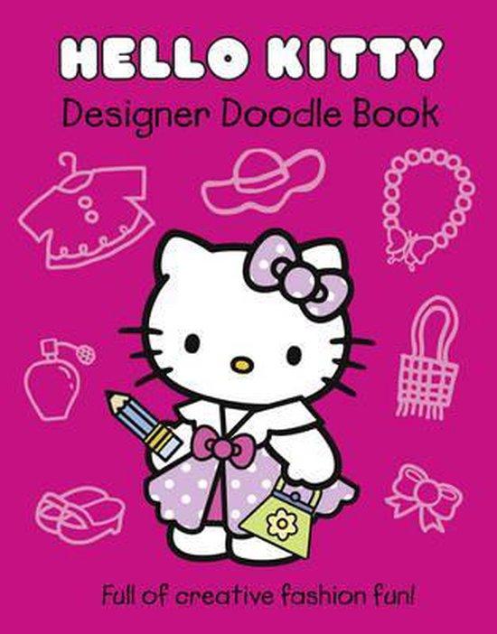 Boek cover Hello Kitty Designer Doodle Book (Hello Kitty) van Onbekend (Paperback)