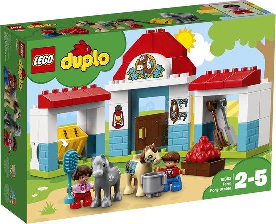Afbeelding van LEGO DUPLO Ponystal - 10868