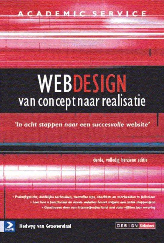 Webdesign van concept tot realisatie - 3de herziene druk - Hedwyg van Groenendaal | Readingchampions.org.uk