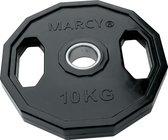 Tunturi Olympische Halterschijf - Halter gewichten - 1x 10 kg - п 50 mm - Rubber