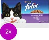 Felix Multipack Mixed Selection - Kattenvoer - 88