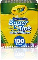 Crayola 100 Viltstiften met superpunt