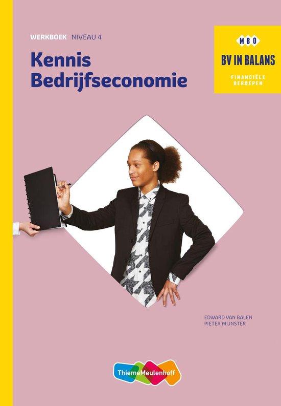 BV in balans - Kennis bedrijfseconomie - Edward van Balen | Fthsonline.com