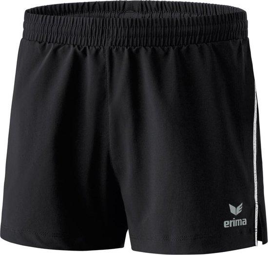 Erima Running Dames Short - Shorts  - zwart - 34