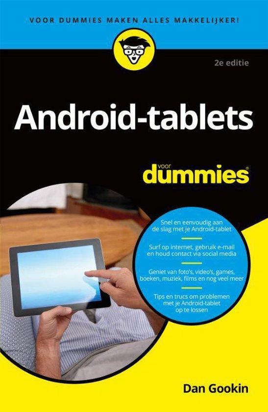 Android-tablets voor Dummie - Dan Gookin | Readingchampions.org.uk