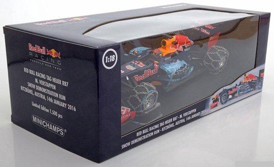 Formule 1 Red Bull Racing TAG Heuer RB7 M. Verstappen 2016 - 1:18 - Minichamps - Formule 1
