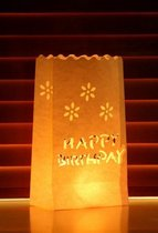 Candle Bag set Happy Birthday 26 cm