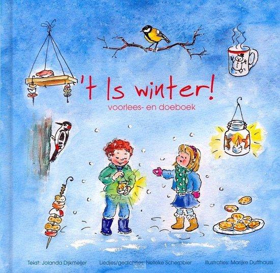 Cover van het boek ''T Is Winter!' van Jolanda Dijkmeijer