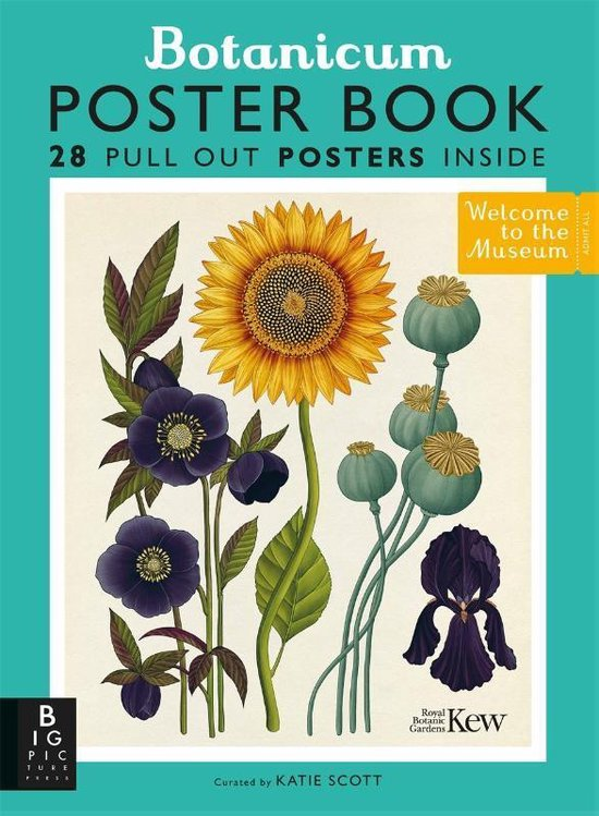 Boek cover Botanicum Poster Book van Professor Katherine J. Willis (Paperback)