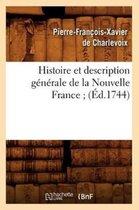 Histoire et description generale de la Nouvelle France (Ed.1744)