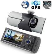 Novatek R300 Dual Dash Cam met GPS en G-Sensor Dashcam Full HD