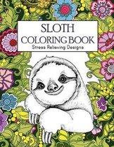 Sloth Coloring Book
