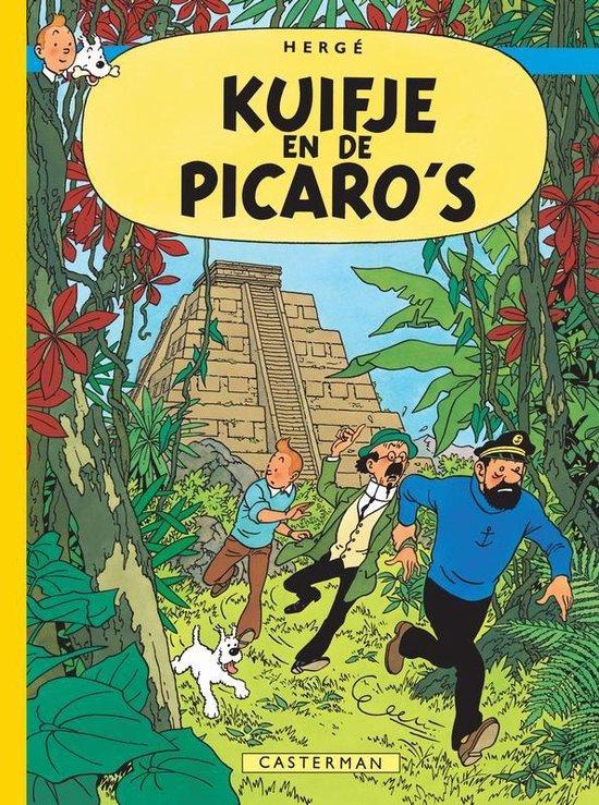 Kuifje facsimile kleur hc23. kuifje en de picaro's - Hergé |