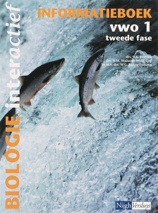 Biologie interactief 1 Vwo Informatieboek - B. Dertien |