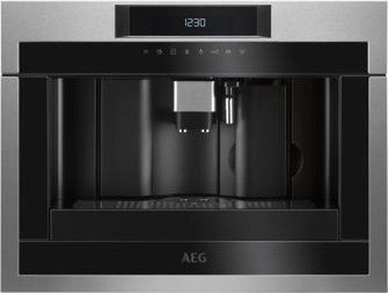 AEG KKE884500M - Inbouw espressomachine - RVS