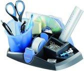 Essentials accessoire houder & pennenkoker - blauw