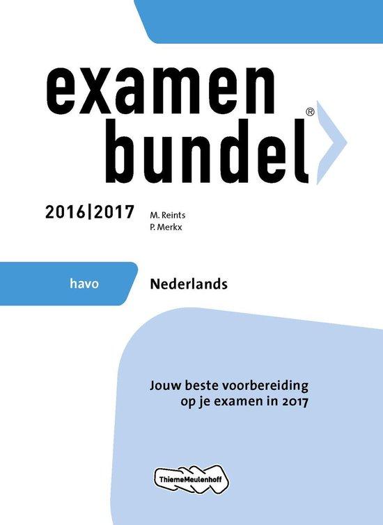 Examenbundel havo Nederlands 2016/2017 - M. Reints pdf epub