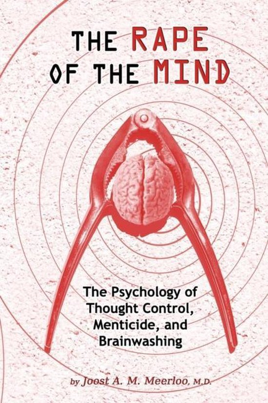 Boek cover Rape of the Mind van Joost A M Meerloo (Paperback)