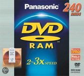Panasonic DVD-RAM Cartridge 3x - 1 stuk