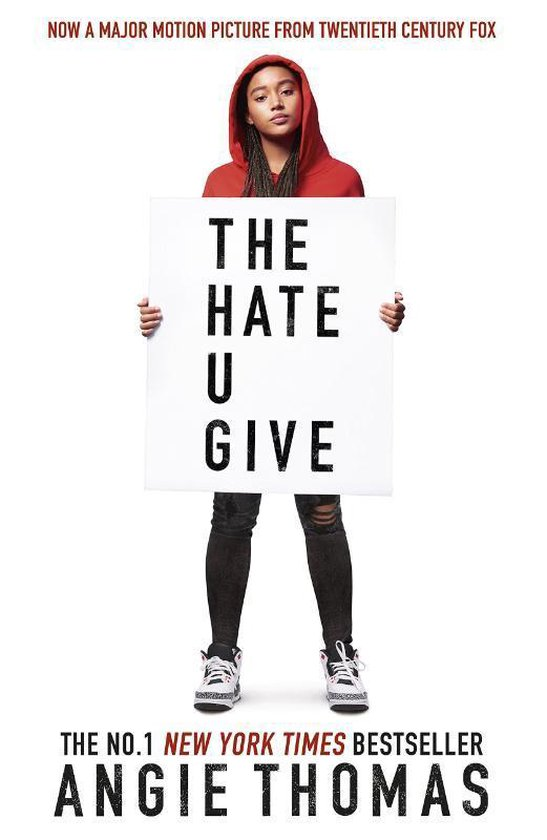 Boek cover The Hate U Give van Angie Thomas (Paperback)