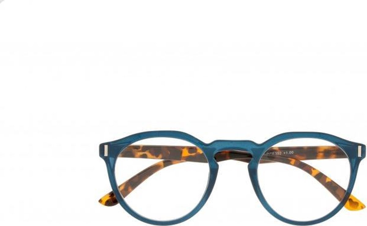 Icon Eyewear RCE352 Nemo Leesbril +1.50 - Petrol blauw montuur, demi pootjes