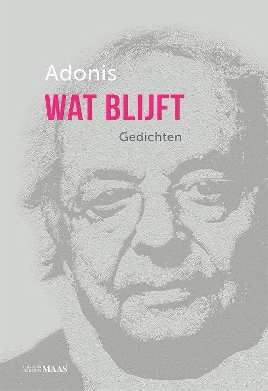 Wat blijft - Adonis |