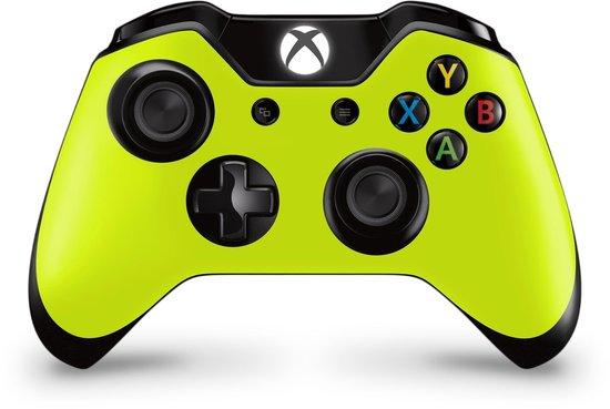 Xbox One Controller Skin Geel Sticker