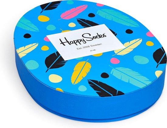 Happy Socks Easter Giftbox Sokken - Blauw/Geel/Roze - Maat 41-46