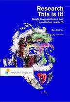 Boek cover Research van Ben Baarda