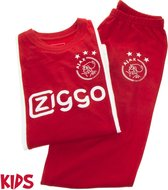 Ajax pyjama kinderen - rood/wit - maat 116
