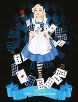 Malbuch Mit Alice Im Wunderland 1