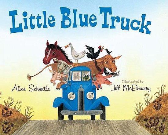Boek cover Little Blue Truck van Alice Schertle (Paperback)