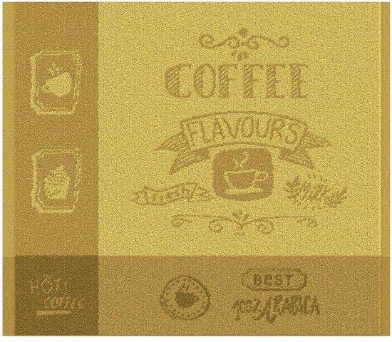 DDDDD Flavours - Keukendoek - 50x55 cm - Set van 6 - Saffron