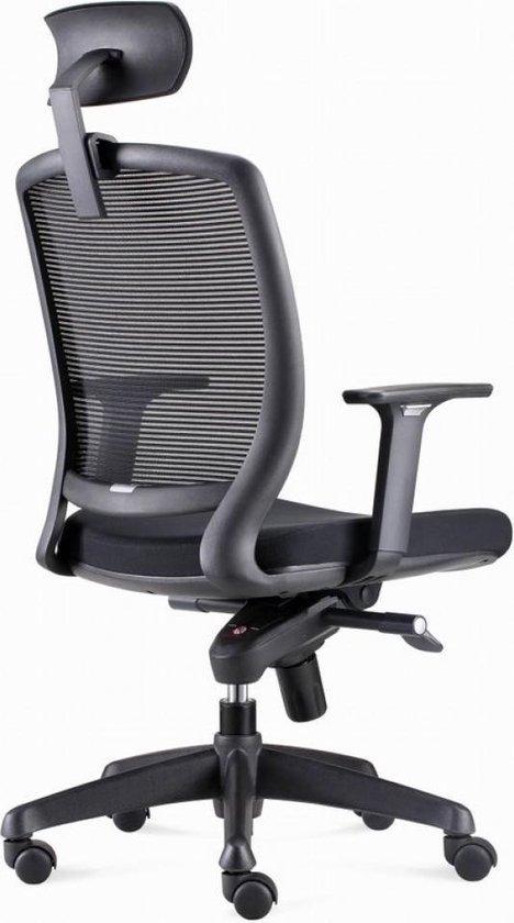 Mooie Stevige Bureaustoel.Bol Com Bens 820dh Ergonomische Bureaustoel Met Hoofdsteun Zwart