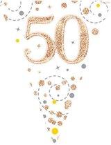 Vlaggenlijn 50 jaar Rose Gold