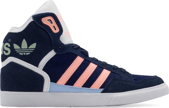 bol.com | Adidas Sneakers Extaball Originals Dames Blauw ...