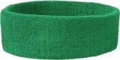 Hoofd zweetband groen