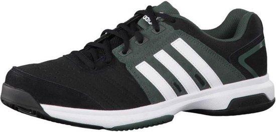adidas Barricade Approach - Tennisschoenen - Heren - 44 2/3 - Zwart - Grijs