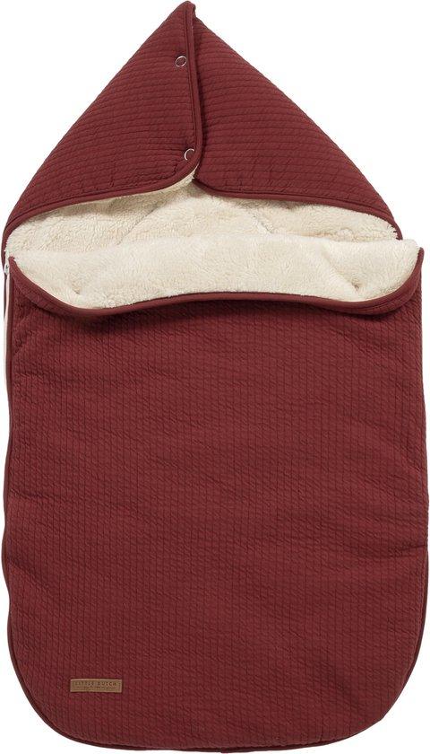Product: Little Dutch Voetenzak autostoeltje 0+ - pure indian red, van het merk Little Dutch